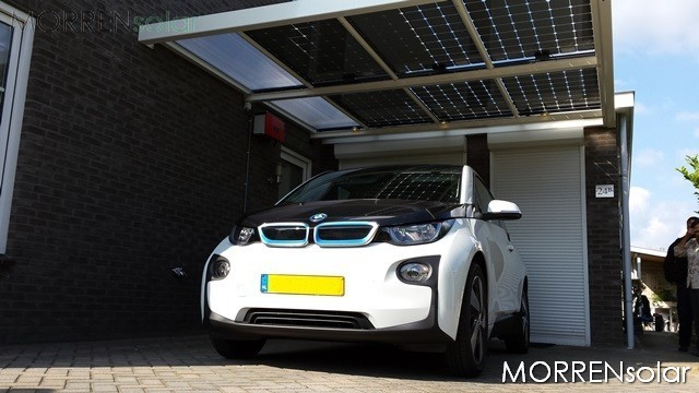 Carport Barendrecht i3 bmw